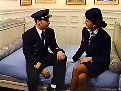 French, Classic, Stewardess, Mom with black, Txxx.com