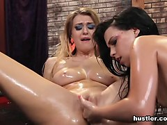 Oil, Punishment girl on girl sex, Txxx.com