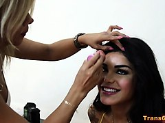 Behind the scenes action of a hot porn, Nuvid.com
