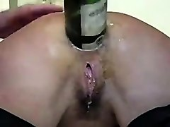 Amateur, Anal, Bottle, Bottle anal insertion 00, Nuvid.com