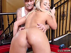 Blonde, Old Man, Little girl seduction old man, Gotporn.com