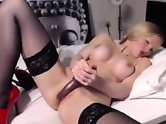 Blonde, British, German girl assfuck, Nuvid.com