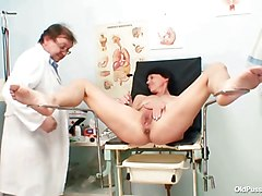 Doctor, Gyno, Milf, Doctor mature perverse, Xhamster.com