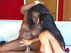 Boots, Interracial, Threesome, Big butts and boots, Xhamster.com