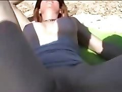 Public, A latino babe gets a dp with a double cream pie, Xhamster.com