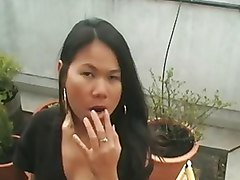 Asian, Smoking, Smoking bong, Xhamster.com