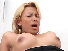 Blonde, Shemale, Shemales fucking a hot girl outside, Xhamster.com