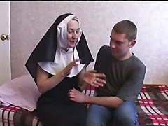 Nun, Men and nun, Xhamster.com