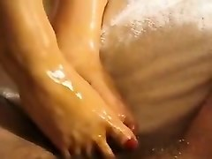 Footjob, Oil, Gay oil massage, Nuvid.com