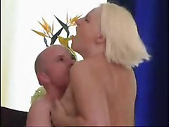 Maid, Aunt, Very big chested granny maid fucks boy, Xhamster.com