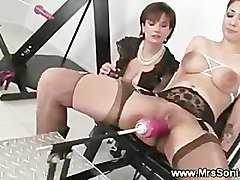 Gagging, Machine, Gag swallow, Pornhub.com
