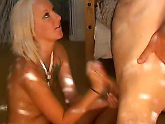 Blonde, Milk, Prostrate milking, Xhamster.com