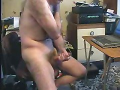 Old Man, Girl swallows old man, Xhamster.com