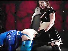 Latex, Lesbian, Strapon latex, Pornhub.com