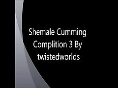 Shemale, Shemale cums in guys, Xhamster.com