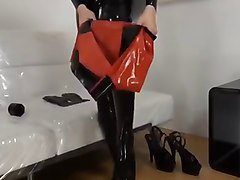 Fetish, Rubber, Latex, Fetish latex and boots fuck, Xhamster.com