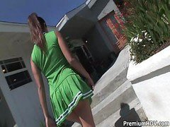 Cheerleader, Cheerleader fucked, Drtuber.com