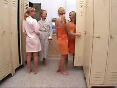 Lesbian, Teen, Cheerleader, Cheerleader threesome with tommy gunn, Xhamster.com