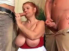 Granny, Tied, Redhead, First time black girls double penetration video, Xhamster.com