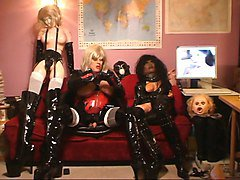 Fetish, Latex, German fetish piss party, Xhamster.com