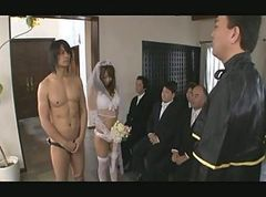 Asian, Gangbang, Japanese, The wedding after party, Xhamster.com
