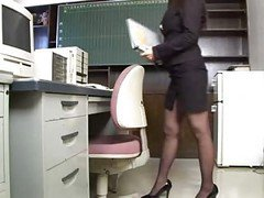 Asian, Office, German fucked by everybody in the office, Xhamster.com