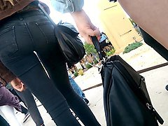 Jeans, Teen, Tight, Jeans leather, Xhamster.com