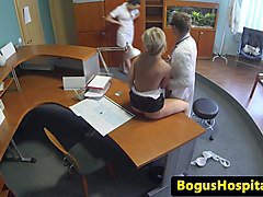Doctor, Office, Nurse, Hidden spy voyeur, Xhamster.com