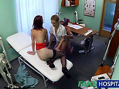 Doctor, Nurse, Threesome, Doctor vs patient sex video, Xhamster.com