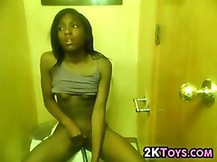 Ebony, Bath, Bathroom, Petite ebony cum in mouth, Fapli.com