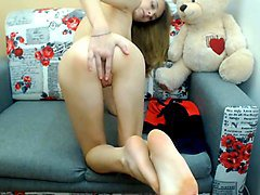 Anal, Blonde, Teen, Blonde teen anal solo, Xhamster.com