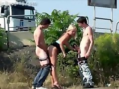 Blonde, Public, Teen, Teen fucked on the street, Pornhub.com
