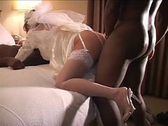 Bride, Cuckold, Wedding, Cheating milf creampie, Xhamster.com