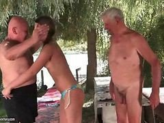 Grandpa, Teen, Granny and grandpa, Gotporn.com