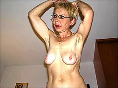 Granny, Ugly, Granny surprised by her in law, Xhamster.com