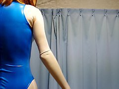 Rubber, Swimsuit, Rubber vamp, Xhamster.com