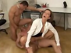 Bisexual, Office, Threesome, Bisexual roommates, Pornhub.com