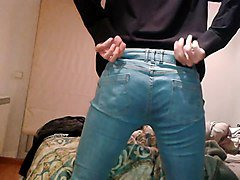 Jeans, Jeans leather, Xhamster.com