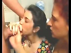 Vintage teen gangbang in the forest, Xhamster.com