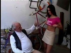 Teen, Money, Old Man, Beautiful lady fucked by dirty old man, Xhamster.com