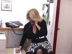 Bus, Office, Secretary, Fucked by all in office, Xhamster.com