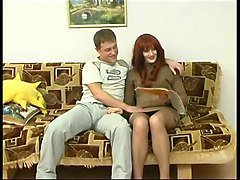 Amateur, Russian, Russian mature mother fuck with young boy, Xhamster.com