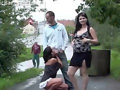 Public, Couple, Arabe et black, Pornhub.com