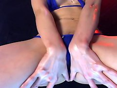 Bikini, Oil, Dance, Latex bikini oil dance, Xhamster.com