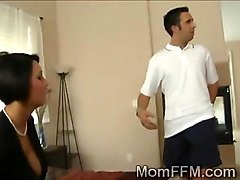 Cheating, Cheating mom hj to keep him quiet, Fapli.com