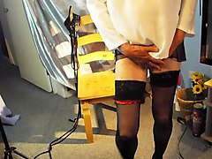 Stockings, Femdom rubber stockings, Xhamster.com