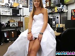 Blonde, Bride, Dress, Indian wedding couples, Fapli.com