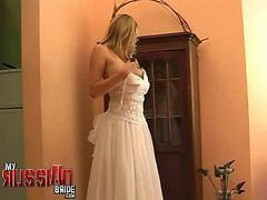 Bride, Russian, Wedding, Wife cheats, Gotporn.com