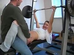 Gym, Girls in the gym, Tube8.com