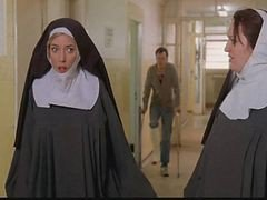 Nun, Police, Strip, Nun first, Xhamster.com